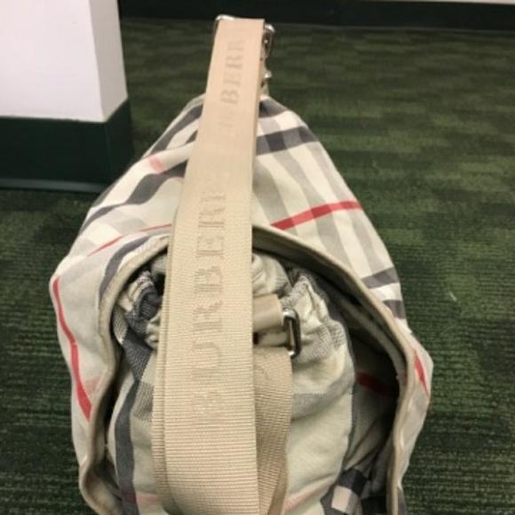07e1dc27c0f9 Burberry Handbags - BURBERRY CANVAS NOVA CHECK DIAPER MESSENGER BAG